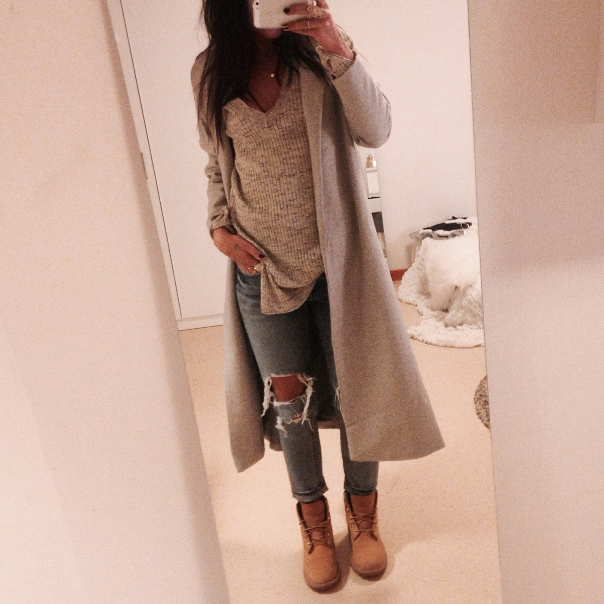 Timberland Skor Outfit